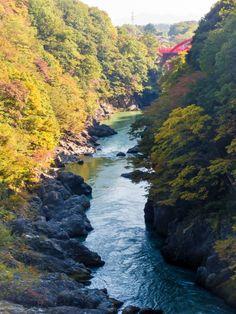 群馬県赤城の渓谷と風景写真∥2014年10月アカジンジャーナル