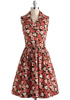 Bake It or Leave It Dress, the print is pretty gaudy but its a nice simple way to incorporate a collar with a dress