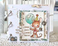 Birthday Minialbum by Katharina Frei