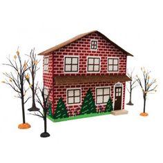 Mary Maxim - Doll House Plastic Canvas Kit