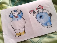 Baymax as Donald Duck and Fireman Minion~~ by Ima-Fluffy-Bunny