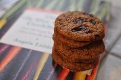 Almond butter dark chocolate chip cookies! (from Angela Liddon's Oh She Glows cookbook) 100% #vegan #dairyfree #glutenfree. Unrefined organic coconut sugar, coconut oil, Endangered Species cacao nib dark chocolate and Trader Joe's creamy almond butter were used. Yum!
