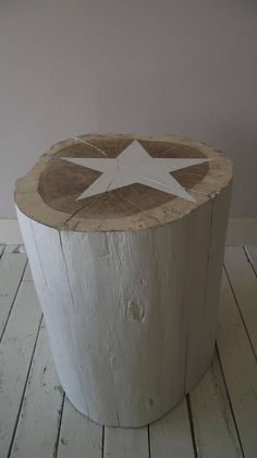 Items similar to table log cm raw solid wood bedside stool side table with white star on Etsy Log Furniture, Furniture Design, Log Chairs, Natural Landscaping, Wood Trunk, Tree Table, Coffee And End Tables, Solid Wood, Home Decor