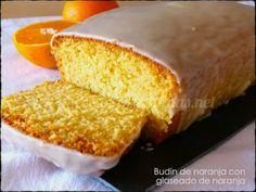 Budín de naranja con glaseado de naranja|RecetasArgentinas