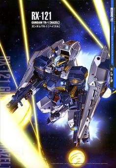 Mobile Suit Gundam Mechanic File - RX-121 (Hazel)