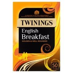 Twinings English Breakfast Teabags 50Bag - Clf-Twn-001 * Be sure to check out this awesome product.