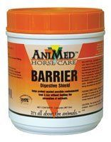 AniMed BARRIER Digestive Shield Equine Supplement, 2 lbs. by AniMed. $20.60. Helps protect against possible contaminated feed. Binds to bad bacteria, stopping it from attaching to gut walls. Neutralizes mycotoxins. AniMed BARRIER Digestive Shield Equine SupplementAniMed BARRIER Digestive Shield Equine Supplement provides your horse with state of the art natural ingredients scientifically engineered to protect against unseen contaminants and the uncontrolled variations...