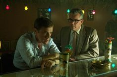 Tiki Bob's! (L-R) CHRISTOPH WALTZ and DANNY HUSTON star in BIG EYES. © 2014 The Weinstein Company. All rights reserved.