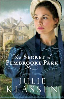 The Secret of Pembroke Park by Julie Klassen- I AM SO EXCITED FOR THIS BOOK @Rebekah Blauch  The synopsis sounds great!