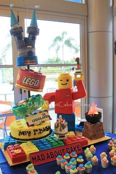 Legoland Birthday Cake