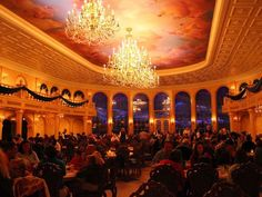 walt disney world BE OUR GUEST | chance to 'eat in a movie' -- Be Our Guest Restaurant: Walt Disney ...