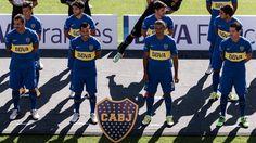 Daniel Osvaldo, Carlos Tevez, Cata Díaz y Fernando Gago, cuatro jugadores titulares en el esquema de Arruabarrena