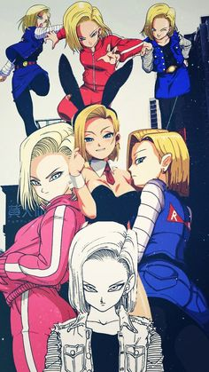 Android 18 forever and ever Dragon Ball Gt, Tatoo Manga, Akira, Fan Art, Manga Anime, Anime Art, Krillin And 18, Character Art, Character Design