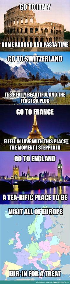 Europe puns