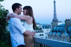 """Fifty Shades Freed, But Are Women?    """"I had these sort of strapless thongs that had glue on them. It's not glue, but it's sticky,"""" she reveals. """"They're, like, basically if it were a nipple pastie, but underwear. But it's only sticky at the top,"""
