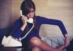 Françoise Hardy by Jean-Marie Périer Evening chit-chat