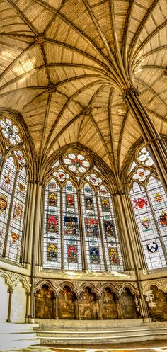 Chapter House, Westminster Abbey, London, England