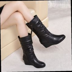 49.00$  Watch now - http://alico9.worldwells.pw/go.php?t=32781550549 - 2017 new Korean women slope boots boots star with a thick warm snow boots boots increased slip 49.00$