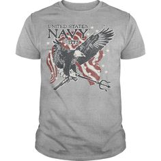 Navy Trident T Shirt, Hoodie, Tee Shirts ==► Shopping Now!