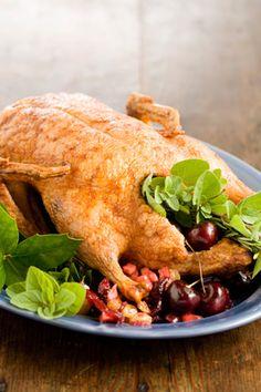 Paula Deen Roast Christmas Duckling with Christmas Chutney