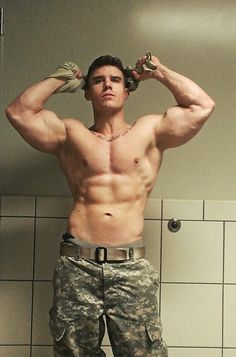 He hadn't expected his Owner to show up, hadn't known his man and the Sgt knew each other but none of that mattered. When his Owner told him to strip off his blouse and shirt obeyed. And when he was ordered to flex and show off…he loved every moment of it.