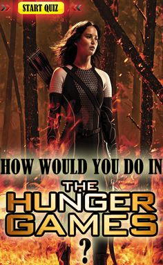 Ever wonder how you would do in The Hunger Games? May the odds be in your favor! SHARE and COMMENT :)
