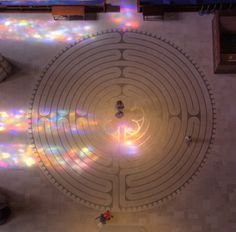 The Labyrinth at Grace Cathedral is magical. If you happen to catch it on the second Friday you can do a candle light  walk. Transforming.