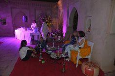 animation narguilé, mariage à Marrakech