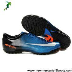 Nike Mercurial Vortex III TF Rouge Jaune Fluo Noir