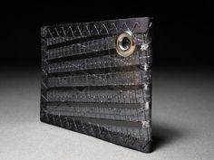 Rugged Bifold ID Chain Wallet  Carbon Fiber by RAGGEDedgeGear
