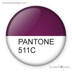 Pantone Sweet Pea Badge: 511C