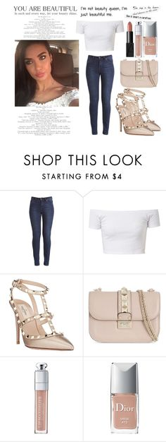 """""""Mariam Rod ♥"""" by shanelle-khl ❤ liked on Polyvore featuring Valentino, Christian Dior and NARS Cosmetics"""