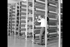 strowger telephone exchange - Google Search They had a smell all of their own.
