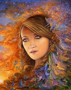 """Angelee's Angels 1"" par Josephine Wall"