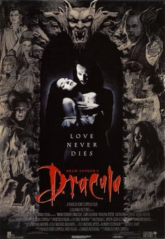 Bram Stoker's Dracula | Horror movie posters - More at http://cine-mania.it