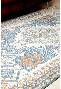Antique Indian Carpets,The Carpet Cellar,AGRA JAIL COTTON<br>CC-3892<br>7 Feet X 4.6 Feet