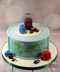 20 Travel Cakes Pictures and Ideas on STEM Education Caucus 30th Birthday Cake For Women, Sweet 16 Birthday Cake, Happy Birthday Cakes, Themed Wedding Cakes, Themed Birthday Cakes, Themed Cakes, 40th Wedding Anniversary Cake, Goodbye Cake, Camera Cakes