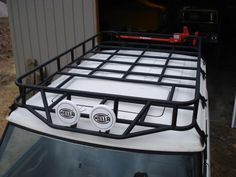 Roof rack build - Land Rover Forums : Land Rover and Range Rover Forum