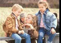 Macaulay Culkin, Farrah Fawcett and Heather Lilly in See You in the Morning directed by Alan J. Pakula, 1989