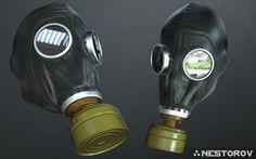 ArtStation - GP5 Gas Mask, Ivan Nestorov