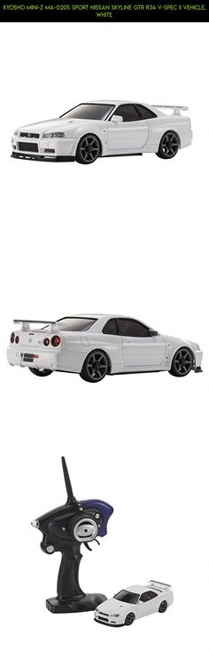 Kyosho Mini-Z MA-020S Sport Nissan Skyline GTR R34 V-Spec II Vehicle, White #tech #racing #shopping #drone #parts #products #white #plans #camera #fpv #kit #technology #kyosho #gadgets #body