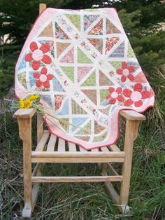 Vintage Turnovers Baby Quilt Pattern Pdf $9.00 on Cute Quilt Patterns at http://www.cutequiltpatterns.com/shop/Girl-Baby-Quilt-Patterns/p/Vintage-Turnovers-Quilt-Pattern.htm