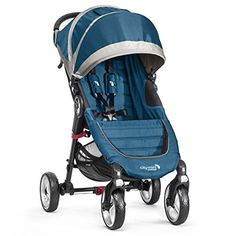 Baby Jogger 2014 City Mini 4-Wheel Stroller, Teal/Gray  http://www.babystoreshop.com/baby-jogger-2014-city-mini-4-wheel-stroller-tealgray/