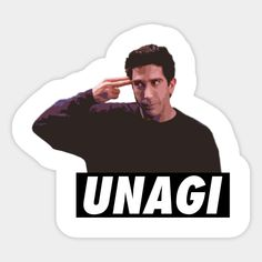 Shop Unagi unagi stickers designed by coffeewithmilk as well as other unagi merchandise at TeePublic. Cute Laptop Stickers, Meme Stickers, Tumblr Stickers, Diy Stickers, Printable Stickers, Friends Moments, Friends Series, Friends Tv Show, Wallpaper Stickers