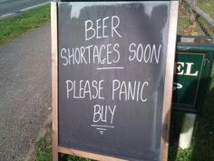 Currently in the UK there is a bit of a Petrol Crisis. A local pub is taking a lighter view of events. @Louise Sanders PR