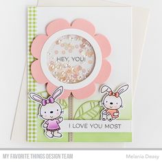 Hi all! I want to share my card for My Favorite Things Wednesday Sketch Challenge 332 . The sketch is fun and challenging so let's play al...
