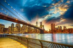 brooklyn bridge sunset wallpaper - Google Search
