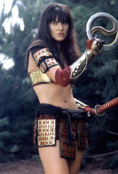 Xena la princesa guerrera -Xena (Lucy Lawless)