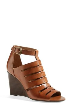 Wearing these Franco Sarto wedge sandals now! Paired them with a cute summer dress.
