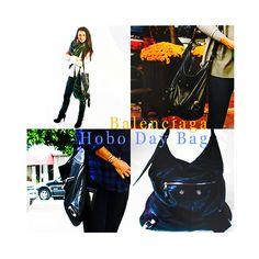 Katie McGrath - Balenciaga Hobo Day Bag